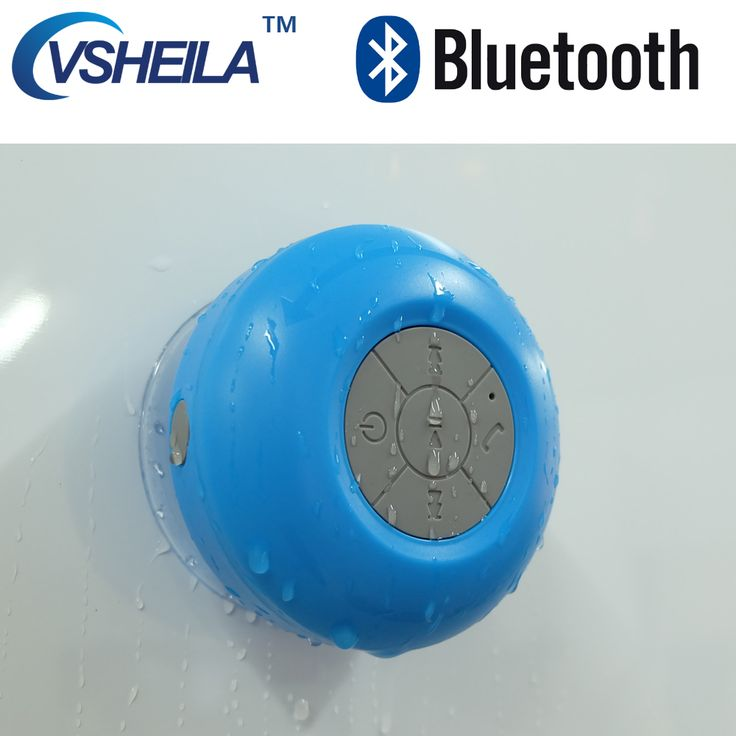 Wp6 vsheila portabel bluetooth speaker tahan air speaker shower kamar mandi tahan air speaker handsfree nirkabel