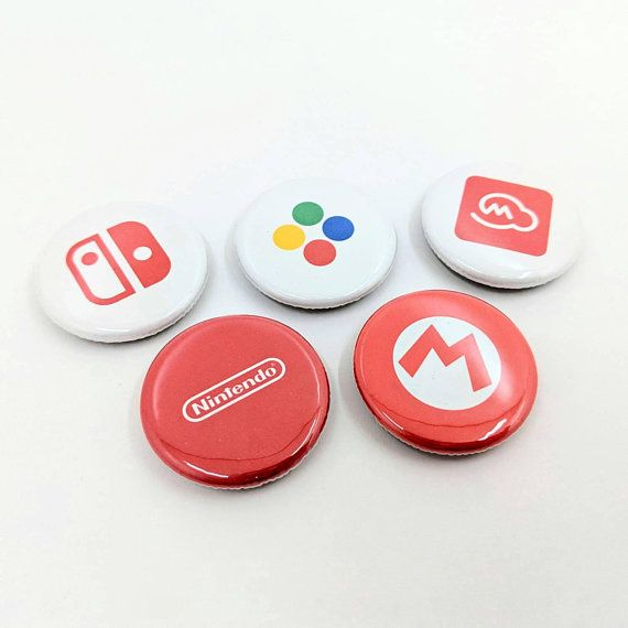 Link Button Legend of Zelda Buttons Zelda Button 1.25 Button Video Game Button