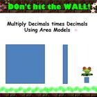 5.NBT.7 Multiplying a Whole Number and Decimal times a Decimal Less than One