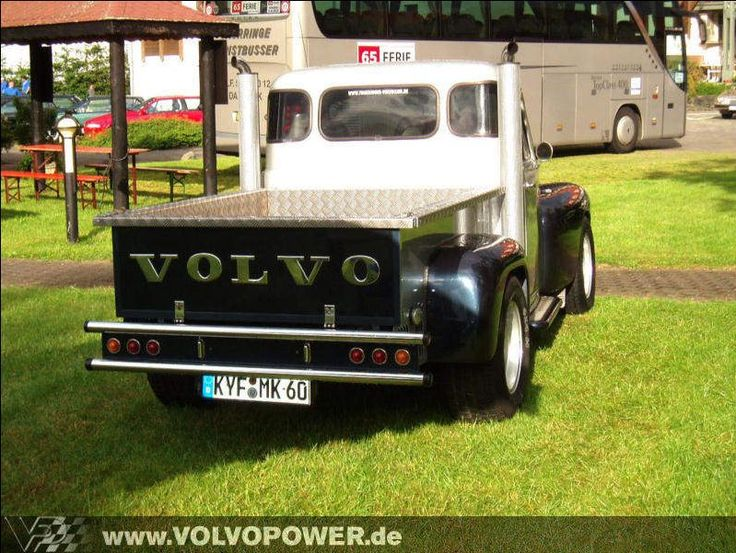 This customized Volvo Duett has become a PV pickup.