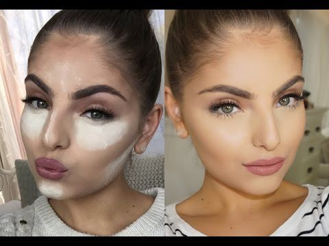 Use this technique to get perfect makeup.