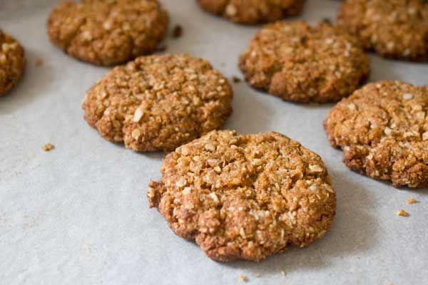 Bite into these super-healthy ANZAC biscuits knowing that every ingredient is nutritious and delicious!