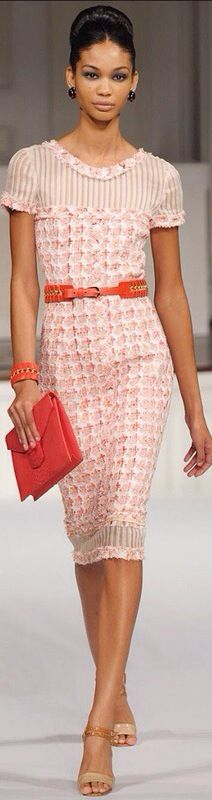 Oscar de la Renta. I would like a different color but beautiful and classic with a modern twist