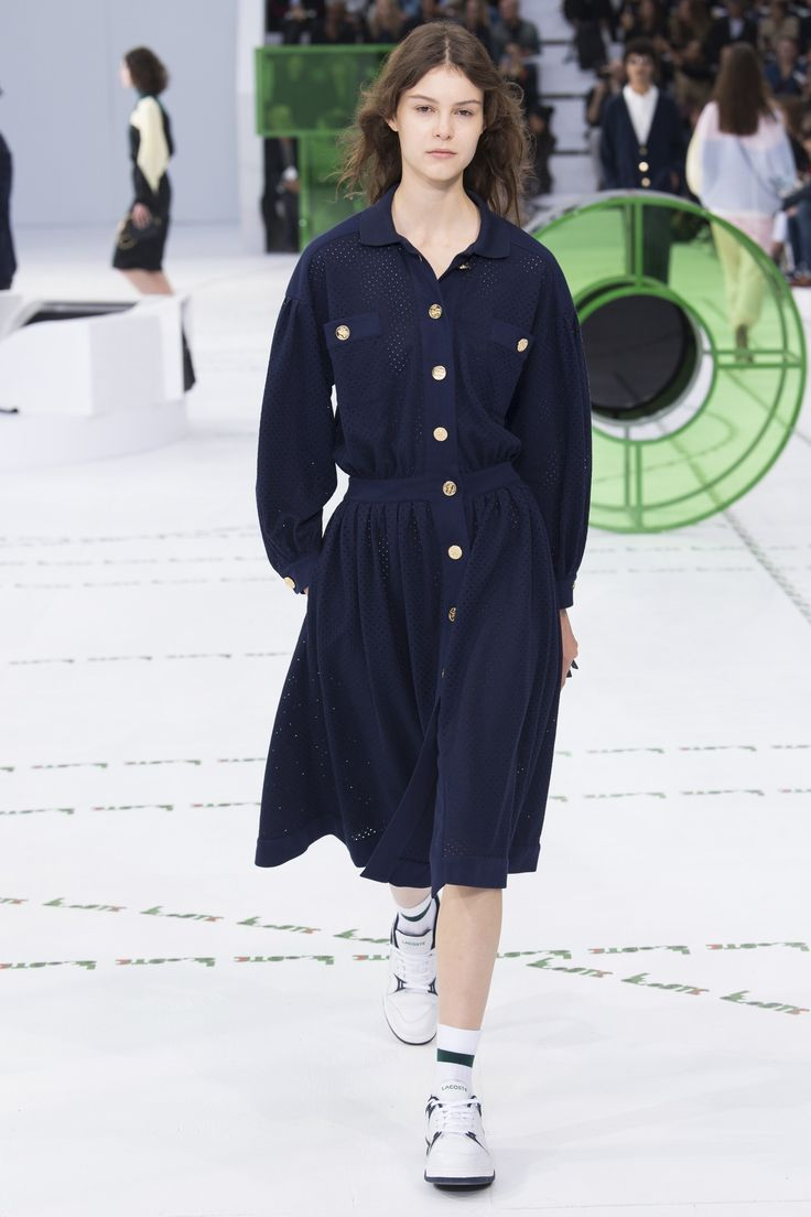Lacoste Spring 2018 Ready-to-Wear Collection Photos - Vogue