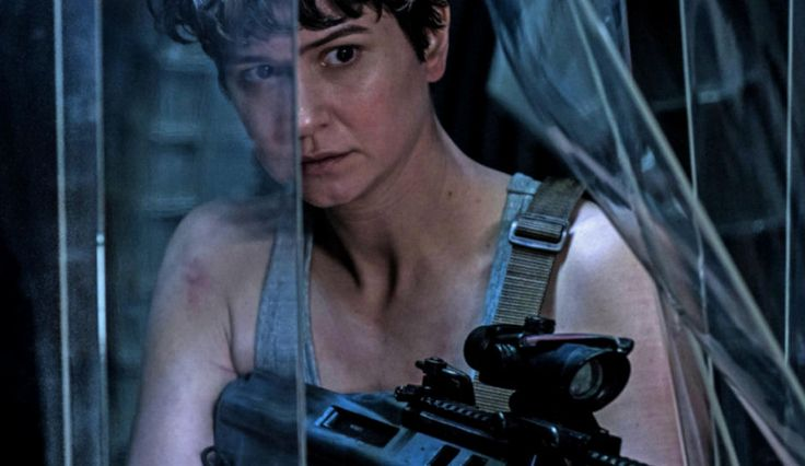 #RidleyScott creates chills with a new #AlienCovenant teaser, as #KatherineWaterston shares how her character differs from the legendary #EllenRipley. #Alien #Prometheus