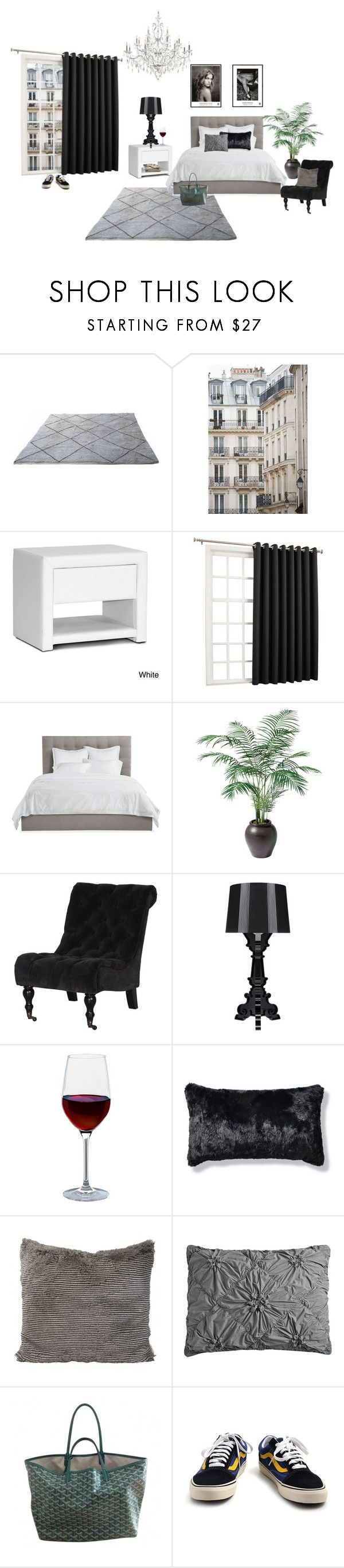 """Untitled #246"" by fashiondisguise on Polyvore featuring interior, interiors, interior design, home, home decor, interior decorating, Haussmann, Baxton Studio, Sun Zero and Avery"