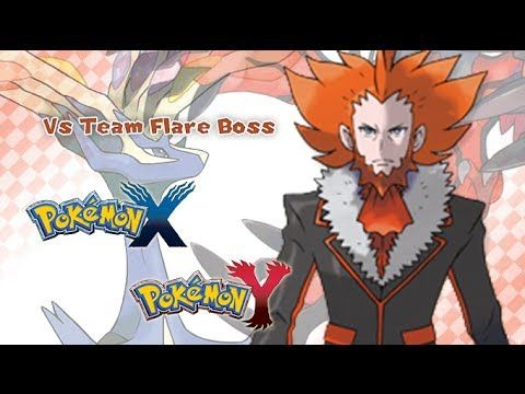 Pokémon X/Y - Vs Team Flare Boss Music HD (Official) - YouTube