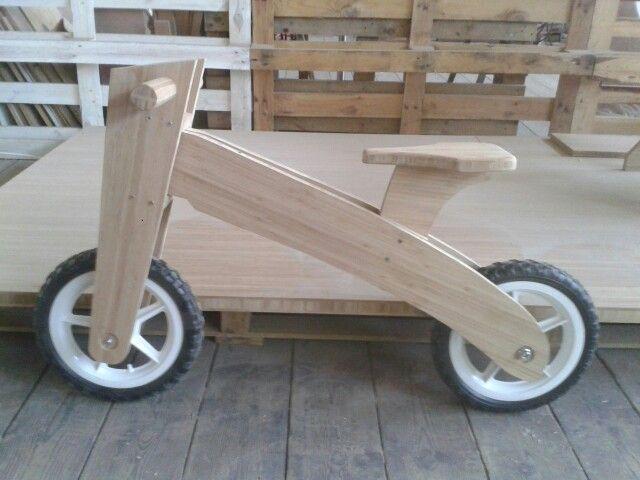 Bamboo Push Bike for kids