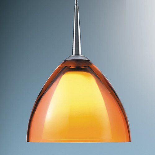 the bruck lighting rainbow ii pendant features a dome of transparent glass adding a lustrous layer