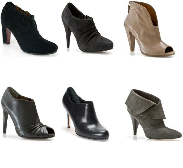 Booties for petite curvy women-advice. Avoid styles higher than ankle bone for maximum slimming effect...