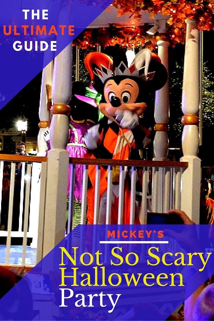 Guide to Mickey's Not So Scary Halloween Party. Everything you need to know and then some.