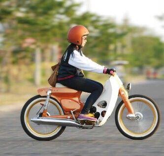 Pinterest - Honda SuperCub Custom Style カスタムカブ画像集