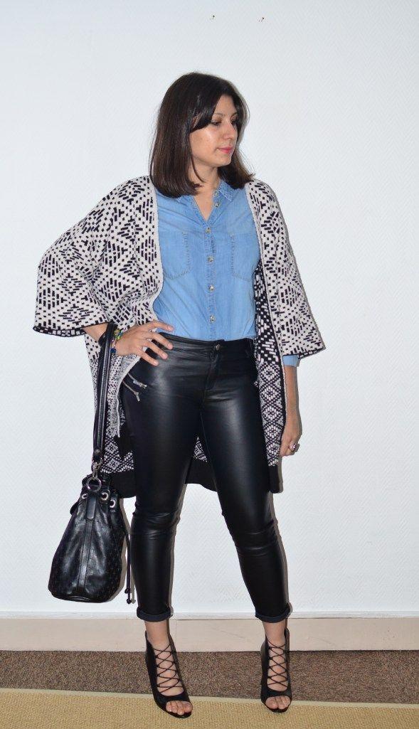 Les 25 meilleures id es concernant pantalon simili cuir sur pinterest panta - Qu est ce que le simili cuir ...