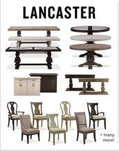 Lancaster Custom Dining Collections from Value City Furniture $159.99 (20% Off) -