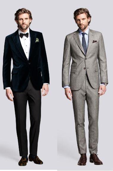 #Traje del novio de #boda: Trajes semi- formales  - Imagen: Carolina Herrera
