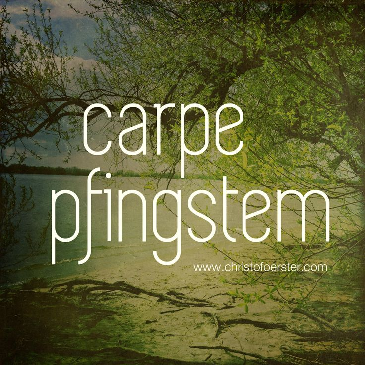 carpe pfingstem. by www.christofoerster.com #pfingsten #elbstrand #hamburg #goodlife #motivation