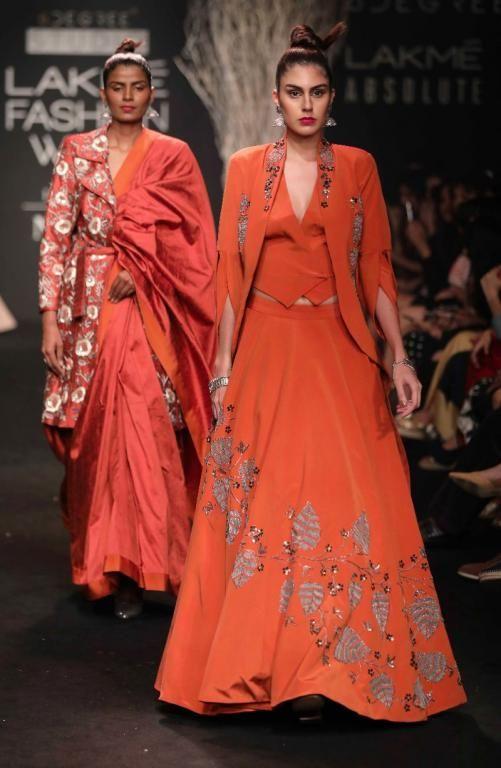 De Belle - Faabiiana - Hardika Gulati - Ruceru - Lakme Fashion Week AW 17 - 51