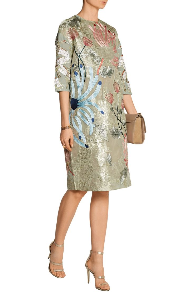 Shop on-sale Biyan Aleia embellished organza dress. Browse other discount designer Dresses & more on The Most Fashionable Fashion Outlet, THE OUTNET.COM