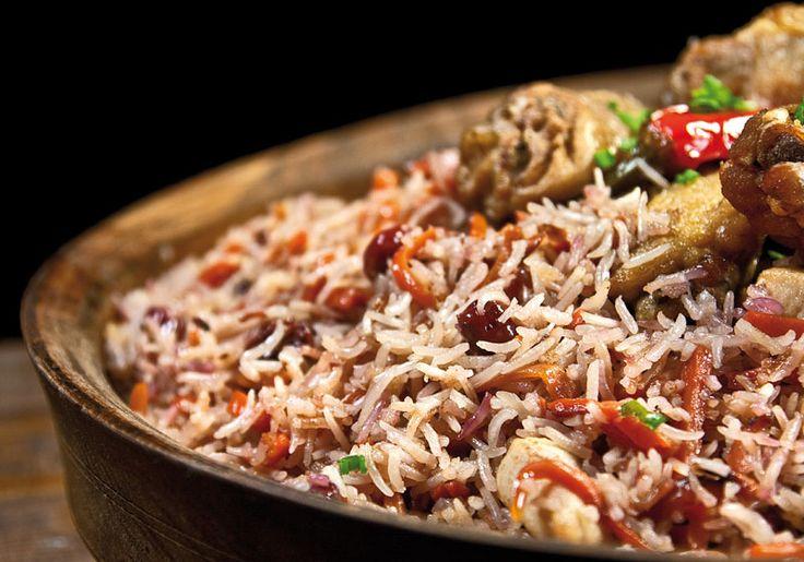 Плов с вишней и цыпленком от www.dunduk-culinar.ru