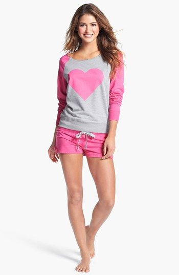 COZY ZOE Sweatshirt & Shorts available at #Nordstrom