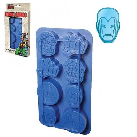 comics ice cube tray