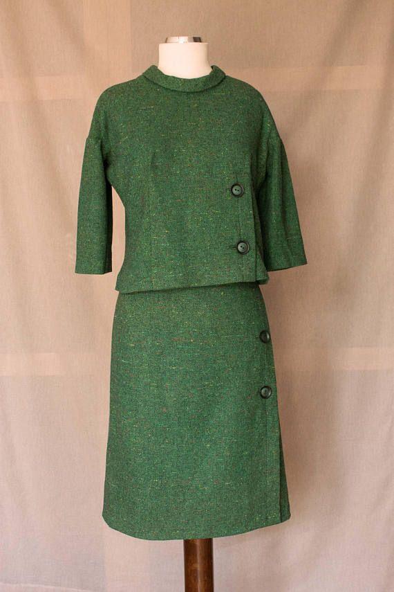 Completo Sartoriale anni '60 verde smeraldo