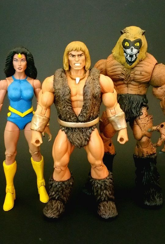 Thundarr Ariel and Ookla (Masters of the Universe) Custom Action Figure