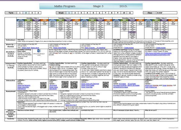 Stage 3 Maths program Term 2 Week 1 by Stephanie Westwood