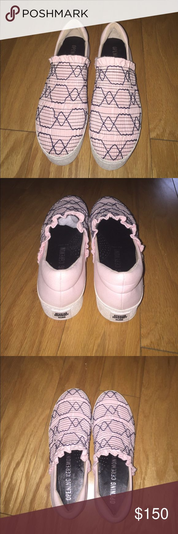Opening Ceremony Platform Sneakers Cute, Sneakers that I only wore once! Opening Ceremony Shoes Sneakers