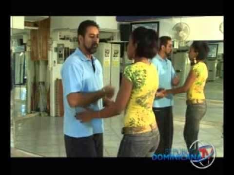 Como bailar merengue parte 2 - YouTube