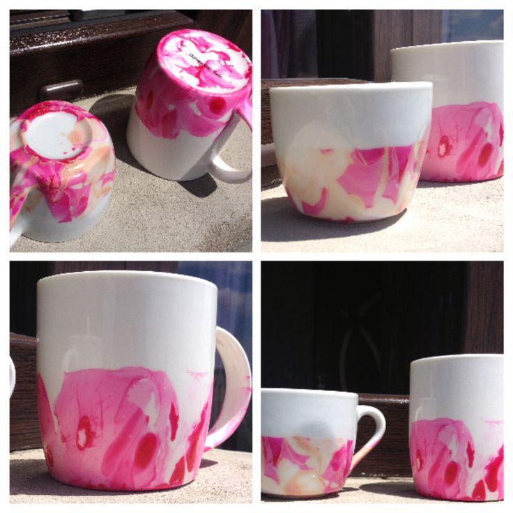 This si nail polish mug! It's so cool!