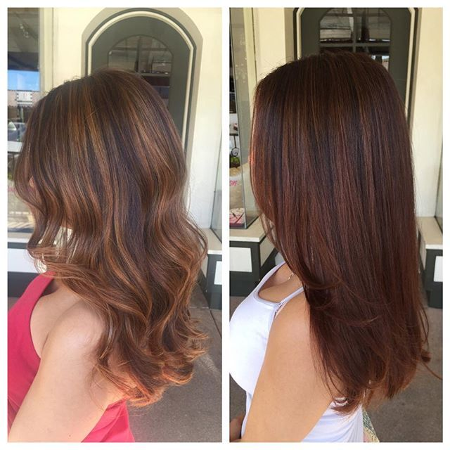 Top 100 amber rose long hair photos Left: Shades Eq 7V (Amber/blonde)  Right: Shades Eq 4WG + 5CB (copper)  Both beautiful colors, different depth and tone  #modernsalon  #behindthechair #americansalon #peninsulabeauty #redkenobsessed #redken #redkencolor #redkenshadeseq #shadeseq #balayage #amberhair #copperhair See more http://wumann.com/top-100-amber-rose-long-hair-photos/