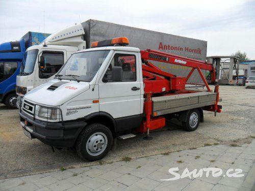 Iveco 40E10W 4x4 plošina - Sauto.cz