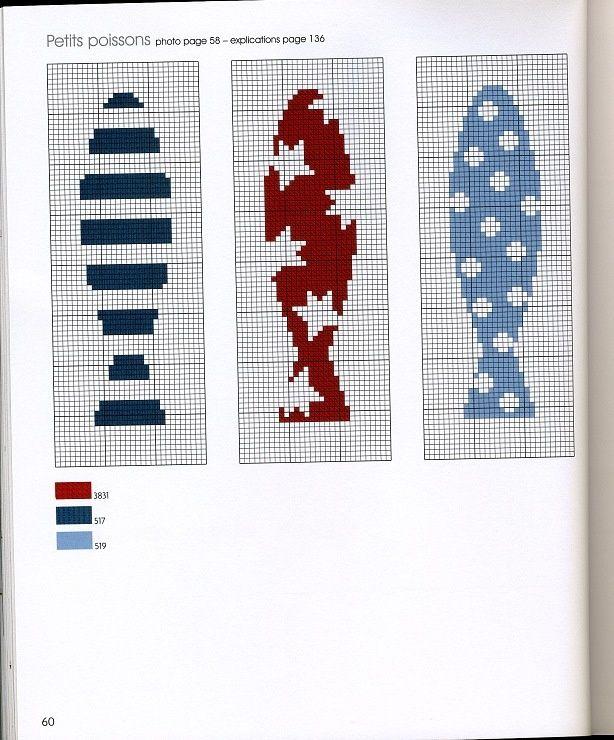 Fishy Business 2/2 [Cross Stitch - Summer - Animals - Fish] [Pattern / Chart]