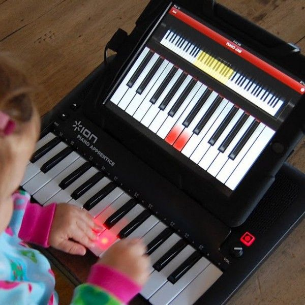 Piano Apprentice by ION - $37 #kids #apple #audio #sing #play #portable #tablet #compatible #connect #light