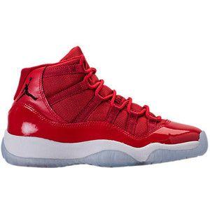 Boys' Grade School Air Jordan Retro XI Basketball Shoes| Finish Line