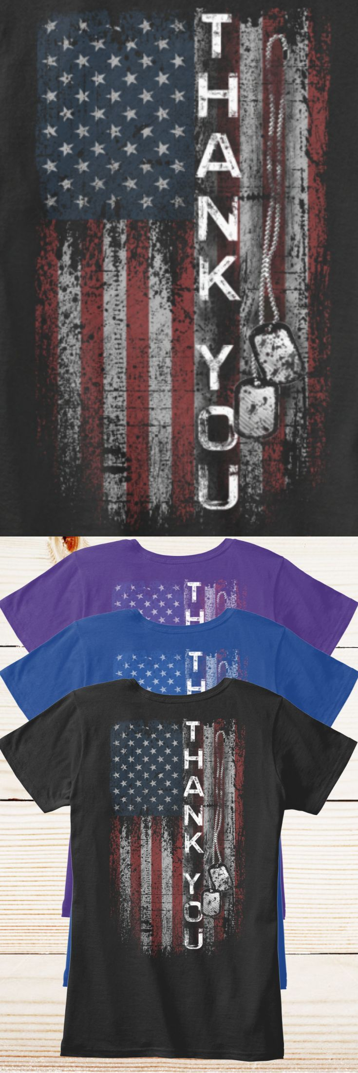 A Thank You to our veterans and active military. - Limited Edition! Only 2 days left for FREE SHIPPING, grab yours or gift it to a friend. You will both love it!