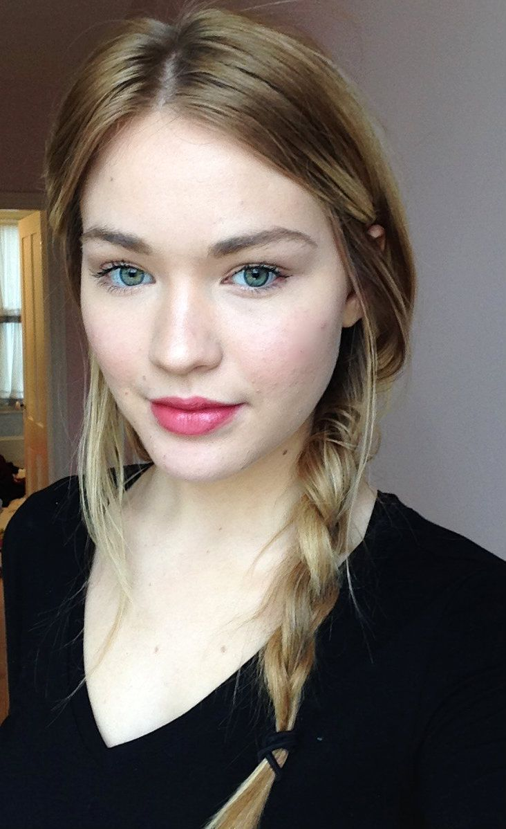 Pale Beauty Portrait Of Blond Woman Stock Image: Best 25+ Lipstick For Fair Skin Ideas On Pinterest