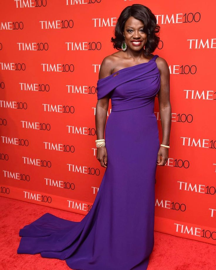 """2,880 Likes, 22 Comments - Variety Magazine (@variety) on Instagram: """"Oscar-winning actress @violadavis stunned at the Time 100 Gala last night in New York. (Photo by…"""""""