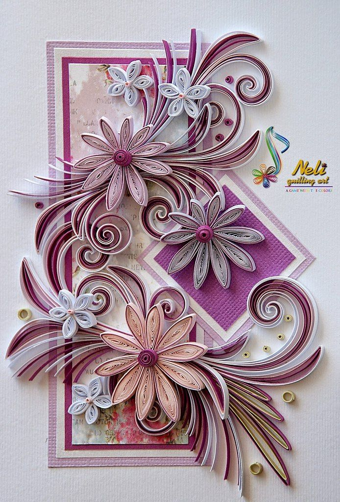 Квиллинг и открытки
