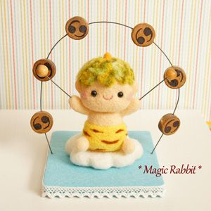 【Magic Rabbit】Feltneedle wool - 雷様