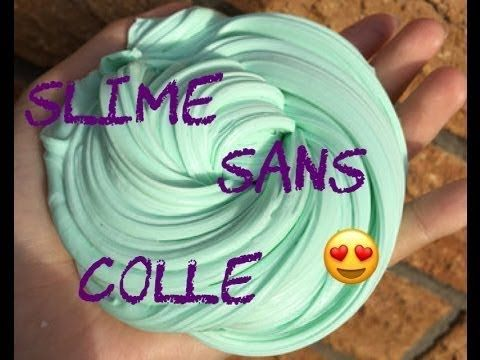 Slime sans colle ♡ - YouTube