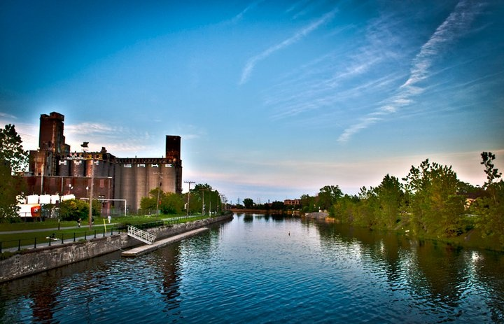 Canal Lachine (biking, walking, rollerblading)