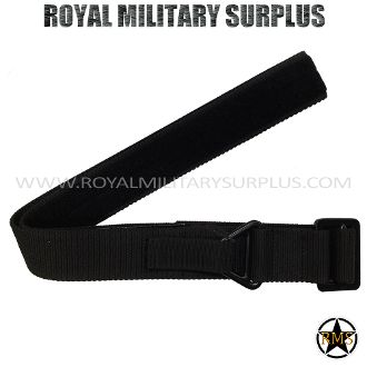 "Belt - Tactical Ops/Commando (Velcro) - BLACK (Black Tactical) - 16,45$ (CAD) - BLACK (Black Tactical) Commando/Special Forces Design Made following Military Specifications 100% Nylon (PVC Buckle) Fully Adjustable Velcro System Precise & Solid for All Sizes ALICE & MOLLE System Compatible One Size: 46""x 1.75"" (117 CM x 8 CM) BRAND NEW WWW.ROYALMILITARYSURPLUS.COM"
