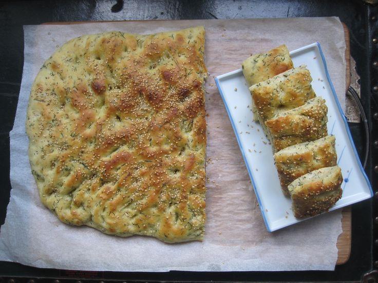 pain à l'aneth irakien bread