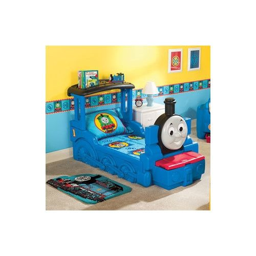 17 Best Images About Trendy Toddler Beds For Boys On Pinterest Thomas The Tank Train Bed And