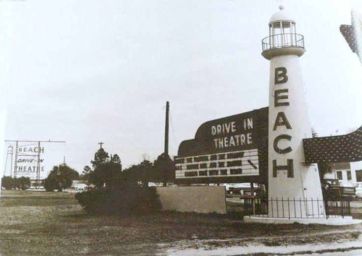 Beach Drive In Theatre Biloxi MS