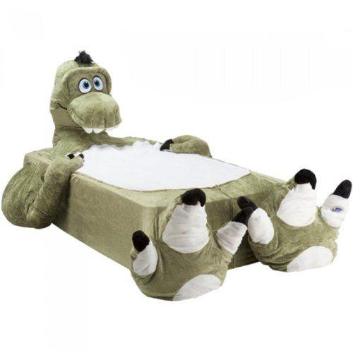t rex dinosaur twin single bed cover incredibeds kids mattress cozy plush animal incredibeds. Black Bedroom Furniture Sets. Home Design Ideas