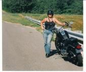 Motorcycle riding hair care tips