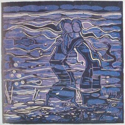 Josef Váchal Ďáblova zahrádka (The Devil's Garden) - 1924